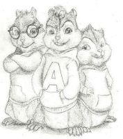 Alvin and the Chipmunks by AlexFox11