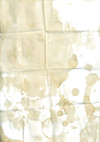 Stained and Folded Paper Texture 1 by Shade-os