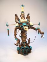 Judgment Engine Front View by ImplosionFactory