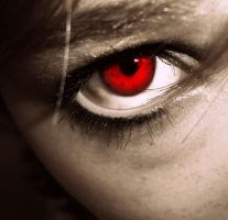 Devil Eye by underneath-the-paint