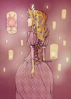 Rapunzel by morganadulac