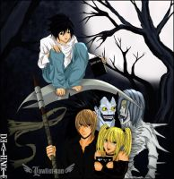 DeatH-Note by Lawliet-san