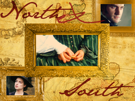 North And South Wallpaper by midenian-lostie
