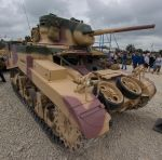 Mighty Honey (M3A1 Stuart IV light tank) by DavidKrigbaum