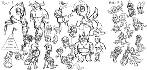 Livestream Sketchdump [09012013] by AssasinMonkey