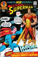 Superman vs. Hyperion! by Gwhitmore