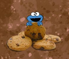 Cookie Monster by eamak