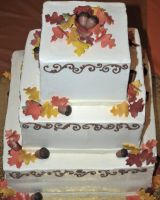 Ashleigh's Wedding Cake by Heidilu22