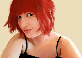 Red Haired Girl by nico667UKCS