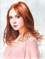 Karen Gillan - Amy Pond by shintetsuya