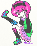 Me in a Pastel Goth Outfit by Mintiru