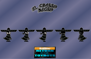 CHARRO NEGRO in my new comic by mayozilla