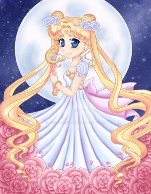 Princess Serenity by Mel-Rosey