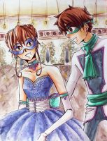 SxS: Masquerade (Merry Christmas, Wallie) by MoPotter