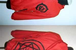 Red Alchemy Hoodie by AniFashion