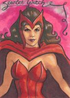 Scarlet Witch by jedipencil