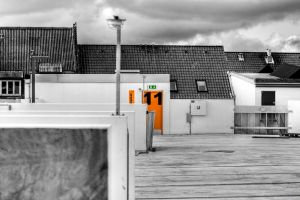 Parking House Rooftop by esbenlp