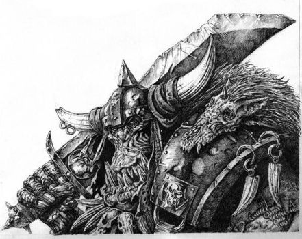 Orc-Warhammer by Wiggers123