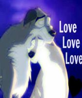 Aleu Love Love Love by thebestestwolfluver