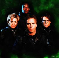 Stargate SG-1 by paulnery