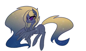 Galaxy Pony Adopt [CLOSED] by Ilovepones