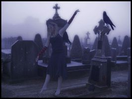 Dancing on Graves by fleurdemai