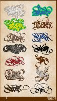 SEVENth HandStyles 060308 by c0nr4d