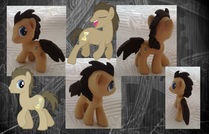 My little Pony FIM Dr. Whooves Custom Figure by Asukatze