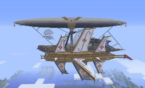My large airship (side view) by CW390