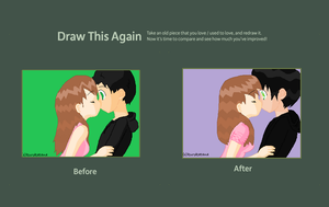Akemi and Alex Before and After by AnimeExtremist