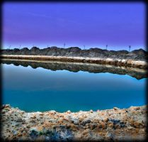 Small and Artificial lake HDR2 by MisterDedication