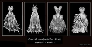 Fractal Stock - Dress Pack II by rockgem