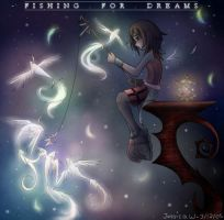 - fishing . for . dreams - by kariavalon