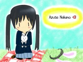 Azusa Nakano-collab with... by puffles044