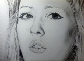 Ellie Goulding 2 by XArt-faceX