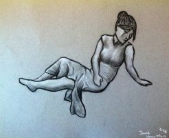 Charcoal 1 by Sheilakh