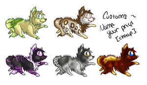 Cheap Name Your Price Puppy Adopts c: by EC-Adopts