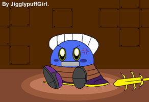 Meta Knight in Distress by JigglyPuffGirl