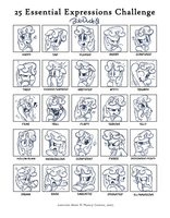 25 Sweetie Expressions by Bobdude0