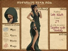 Republic city - Lady Kibeth by Maeirys