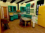 3D kitchen for a loft by Cuenk89
