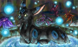 SHiny Umbreon by Kemonomimi