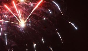 New year 2013: Fireworks 2 by VincentPhotography