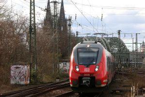 A Hamster in Cologne by Budeltier