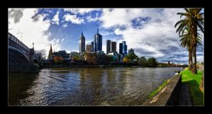 Fed Square Meets the Yarra by WiDoWm4k3r