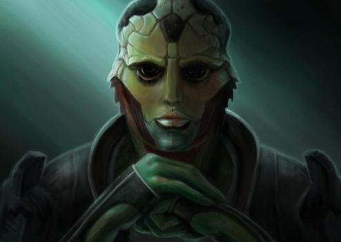 Thane Krios by Sathynae