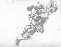 Deathstroke new 52 style by Ace20XD6