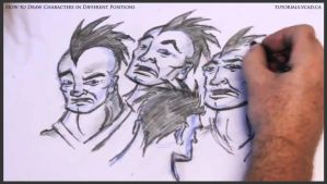 Learn to draw characters in different positions 33 by drawingcourse