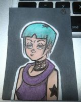Artist Trading Card: Pixie Pine by Inky-Doodle