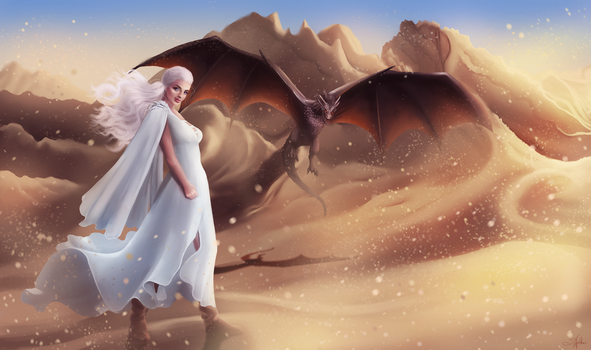 Mother of Dragons by Sandramalie